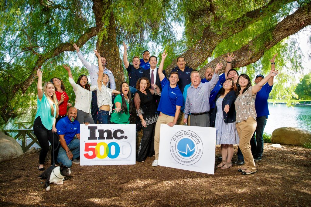 A-Tech Joins Inc 5000 List