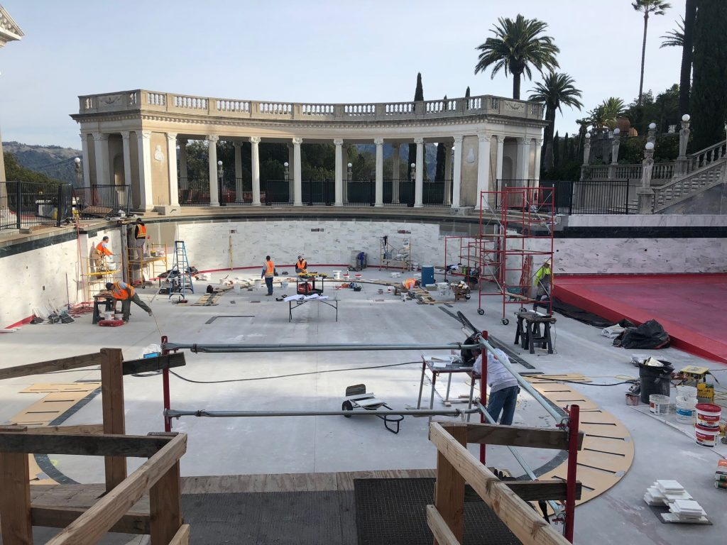 Neptune-pool-construction