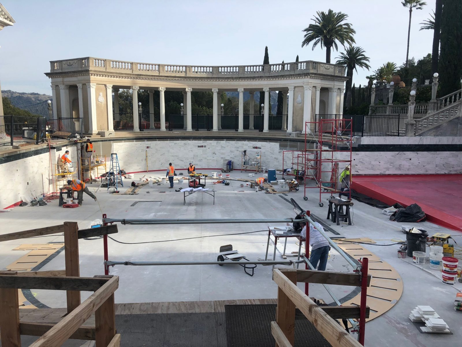 Neptune-pool-construction