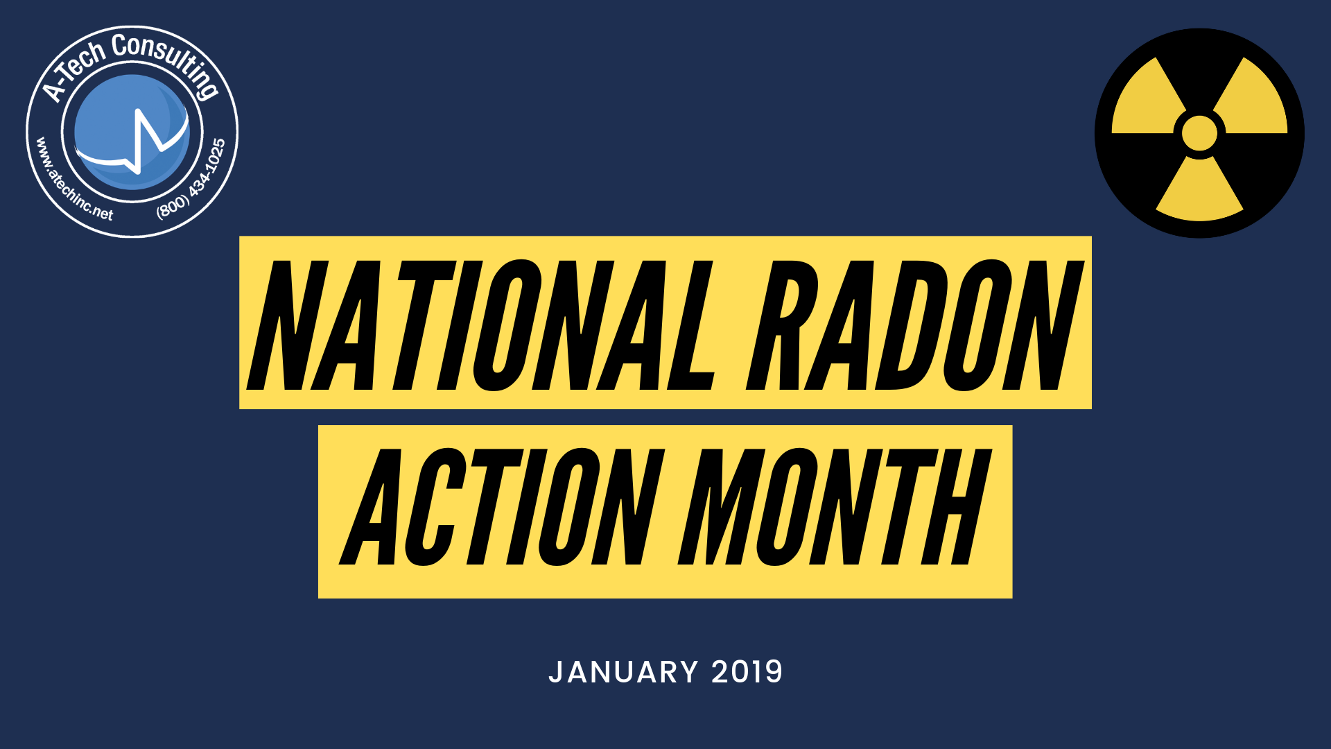 A-Tech National Radon Action Month
