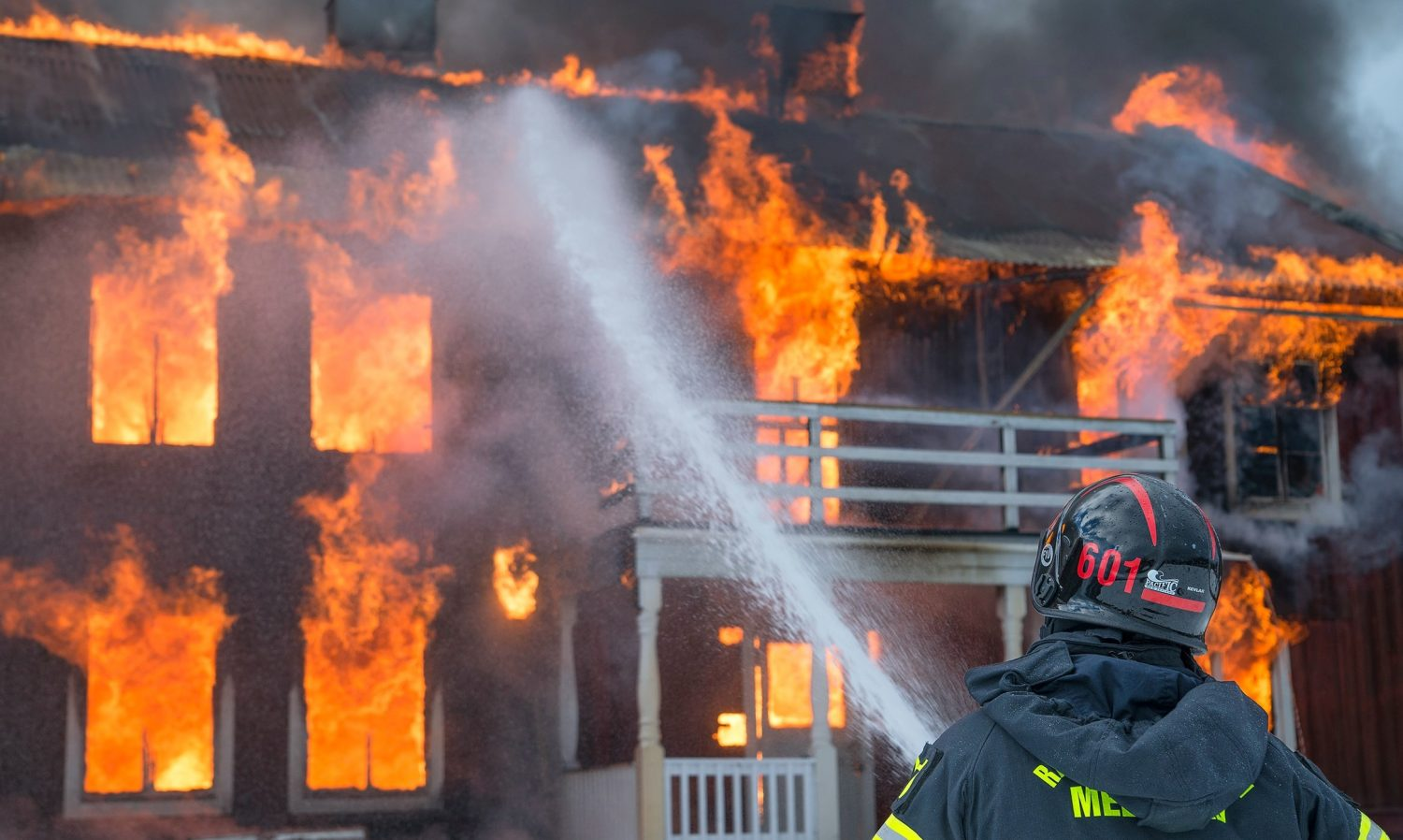 Has Your Home or Business Been Burned or Damaged - A-Tech